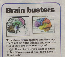 Christopher Fielden - Brain Busters - Mercury February 3rd 2005