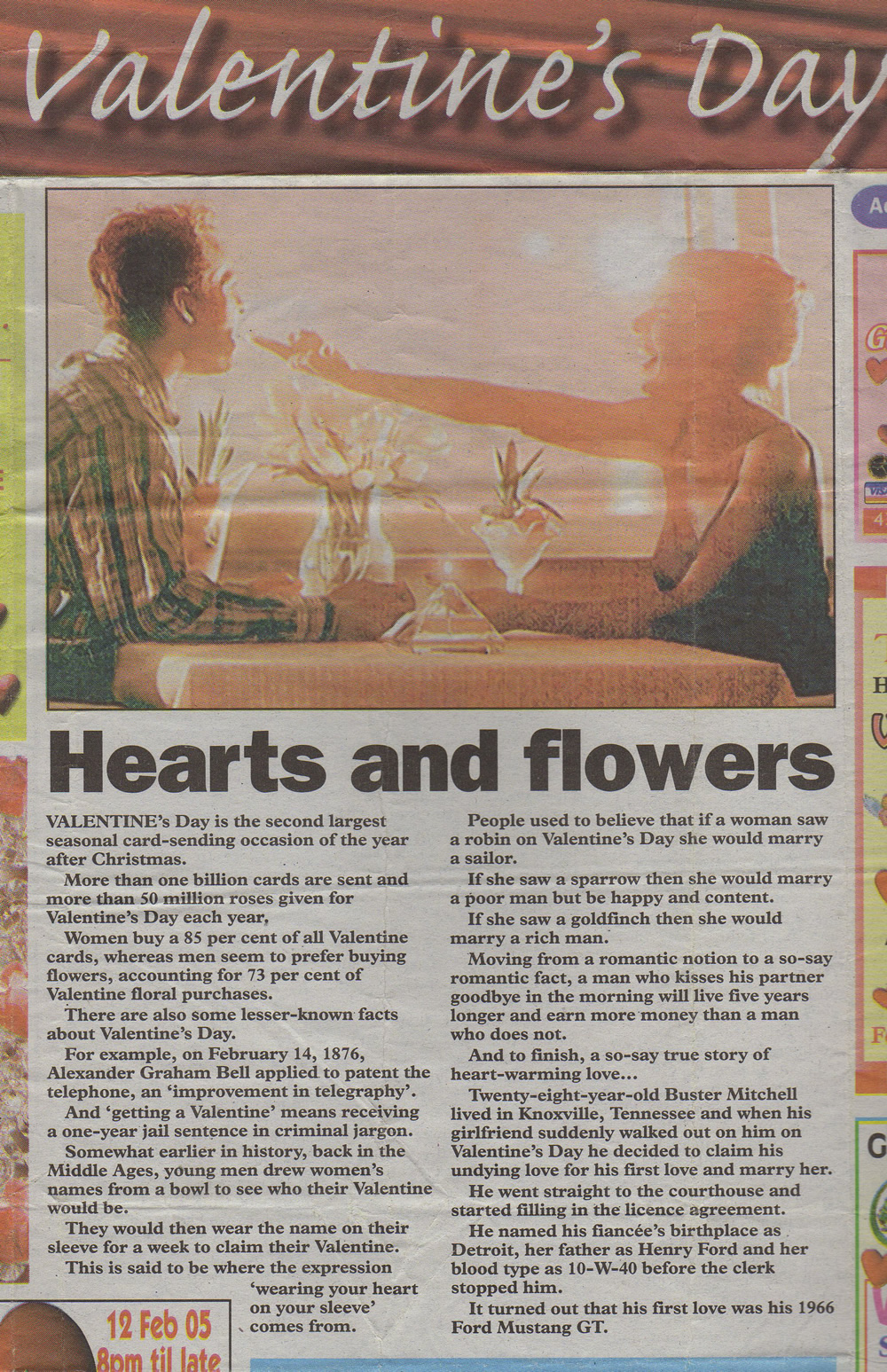 how to write newspaper articles writing for newspapers see christopher fielden valentines day article mercury 3rd 2005