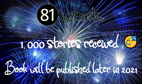 81 Words, 1000 stories received
