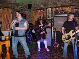 ADHD ACDC tribute band @ The Barrel, Thornbury, UK