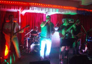 AD/HD AC/DC tribute band @ Portishead Working Mans Club April 2012