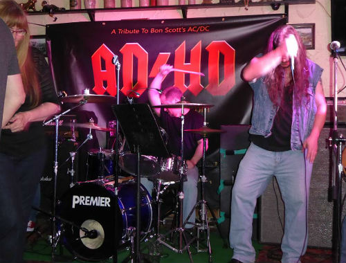 AD/HD - AC/DC Tribute at Royal Oak in Chipping Sodbury