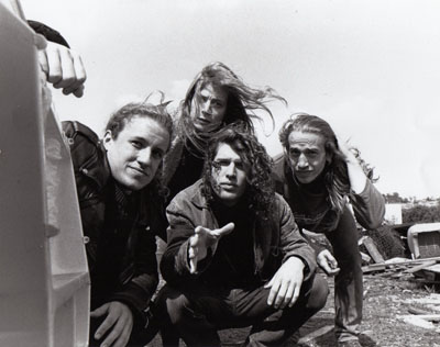 Airbus music rock band on Harbour Road Portishead, pre development in the early 90's