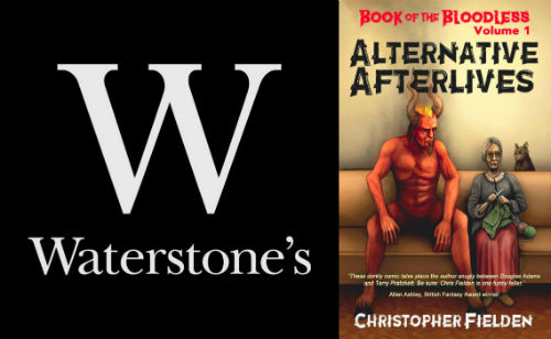Alternative Afterlives at Waterstones
