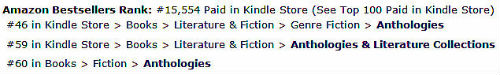 Amazon UK Chart Ranking Kindle