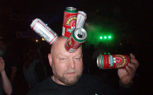 Beer Can Mohawk