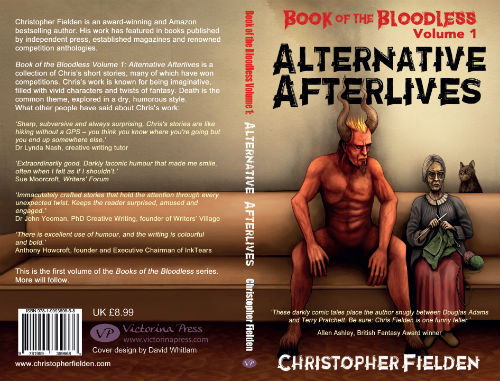 Book of the Bloodless Volume 1: Alternative Afterlives full book cover