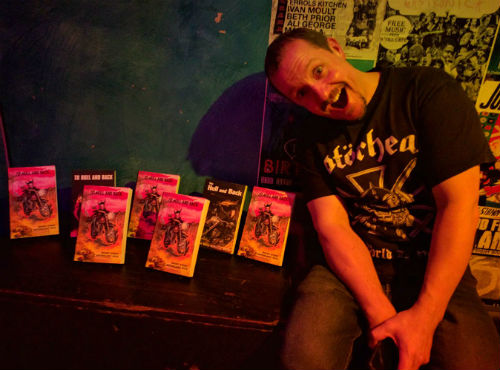 Chris Fielden and his books