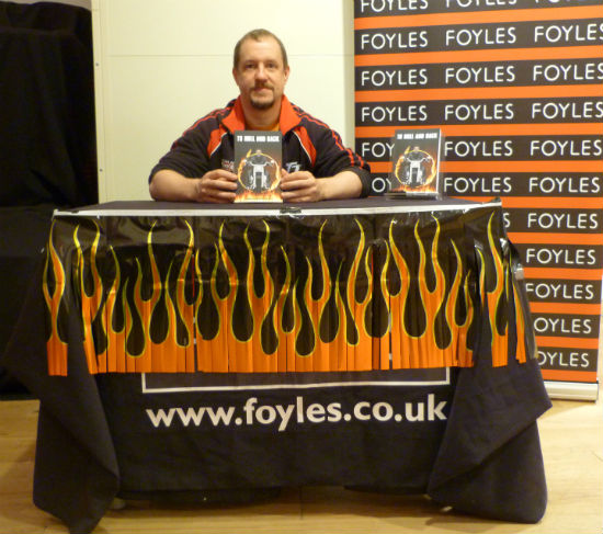 Christopher Fielden To Hull & BAck Anthology Book Launch at Foyles in Bristol