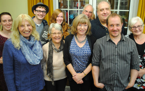 Christopher Fielden and Rushmoor Writers