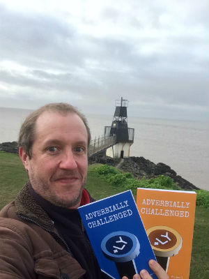 Christopher Fielden on Battery Point in Portishead