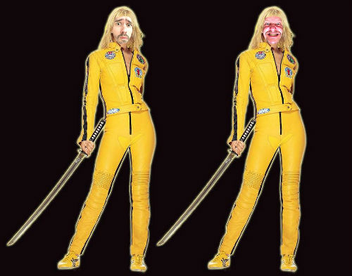 Dave and Chris Fielden Kill Bill