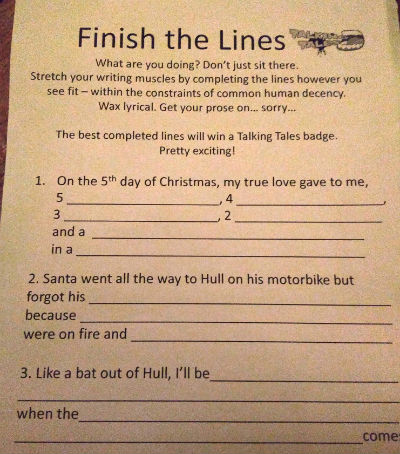Finish The Lines