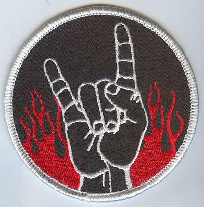 Metal Hand Patch