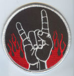 Metal Hand Sign patch