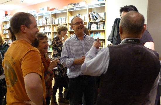 Foyles Book Launch To Hull & Back November 2014