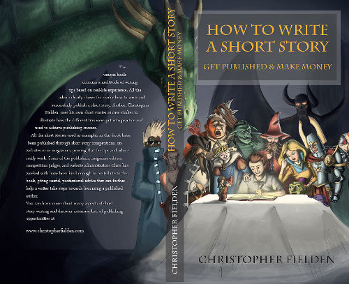 how to write a short story get published and make money book cover