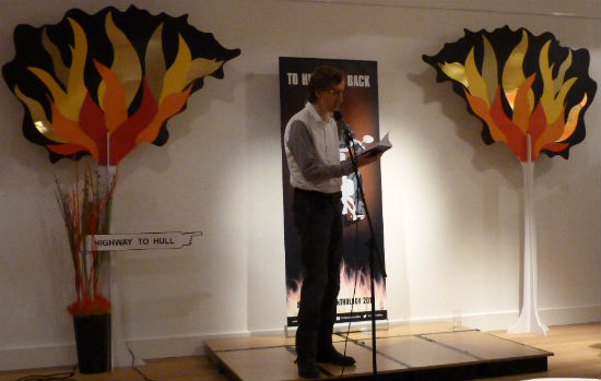 Mike Scott Thomson To Hull & Back Launch Reading