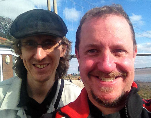 Writers Mike Scott Thomson & Christopher Fielden