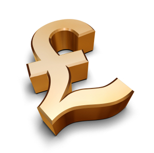 GBP Great British Pound Sign