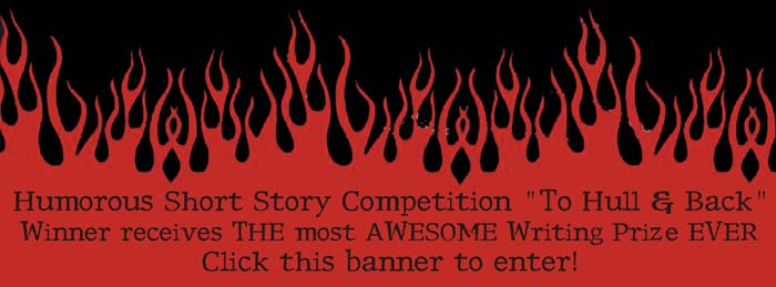 to hull and back short story competition banner - Halloween Short Story Contest