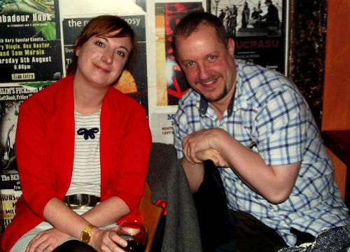 Chris Fielden & Christie Cluett at Talking Tales