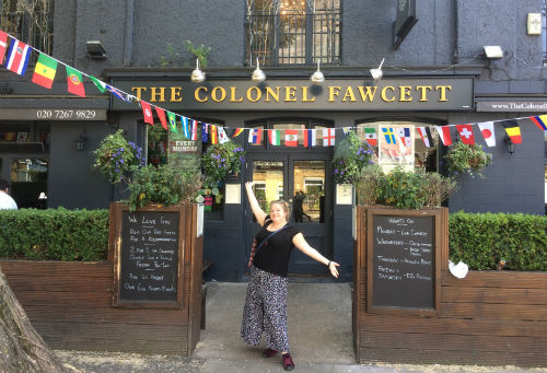 The Colonel Fawcett, Camden, London