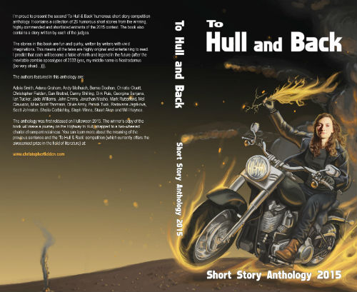 To Hull & Back Short Story Anthology 2015 Full Book Cover