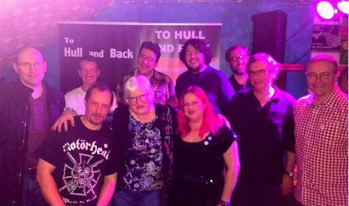 To Hull & Back 2016 Book Launch Authors Photo