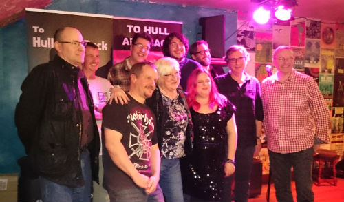 To Hull & Back Launch Party - Authors