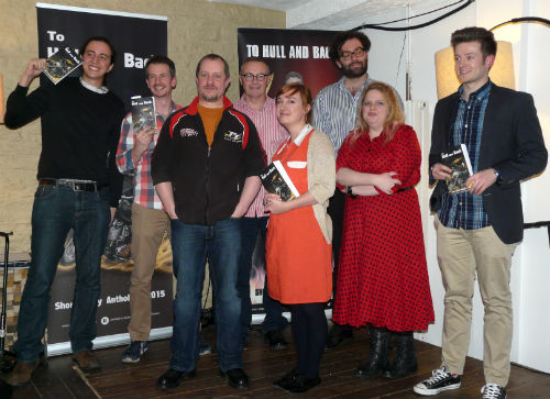 To Hull & Back anthology launch at Cafe Kino in Bristol