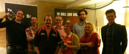 To Hull & Back short story competition anthology launch
