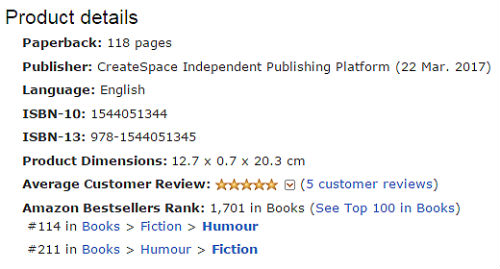Amazon Rank UK Print
