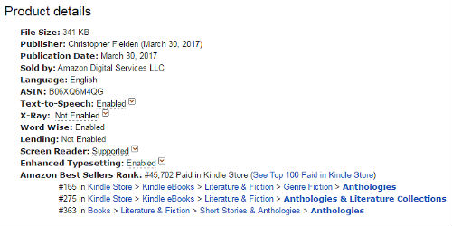 Amazon Rank USA Kindle