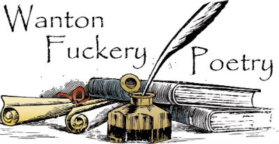 Wanton Fuckery Poetry logo