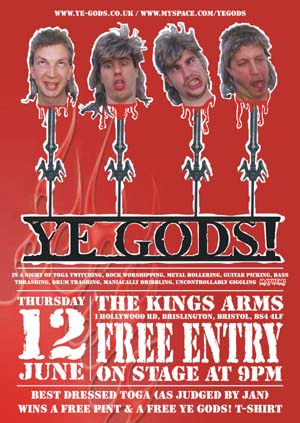 Ye Gods! The Kings Arms